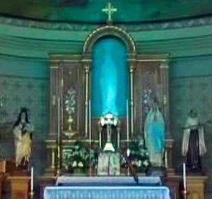 Virgen de Lourdes en Alta Gracia